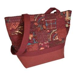 Women's Donna Sharp Medium Patched Tote Autumn