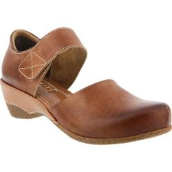 Women's L'Artiste by Spring Step Gloss Mary Jane Medium Brown Leather