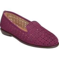 Women's Aerosoles You Betcha Slip-On Purple Nubuck