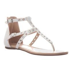 Women's Madeline Augusta Thong Sandal White Synthetic