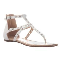 Women's Madeline Augusta Thong Sandal White Synthetic