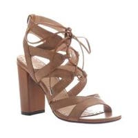 Women's Madeline Brunette Lace Up Sandal Tan Synthetic