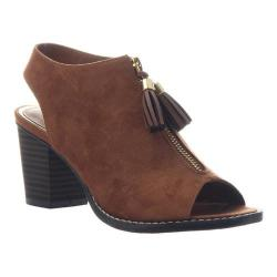 Women's Madeline Ethernal Open Toe Shootie Butterscotch Textile|https://ak1.ostkcdn.com/images/products/186/325/P22503031.jpg?impolicy=medium