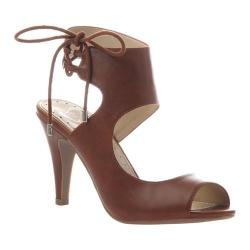Women's Madeline Junebug Ankle Cuff Heel Tobacco Synthetic