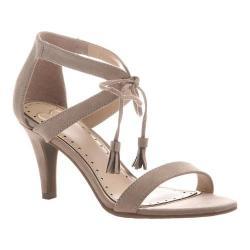 Women's Madeline Magnetic Heeled Sandal Medium Taupe Textile