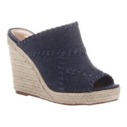 Women's Madeline Mix Wedge Slide New Blue Textile