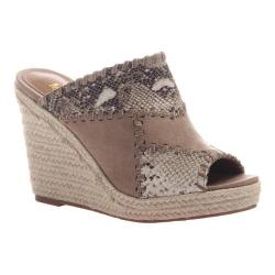 Women's Madeline Mix Wedge Slide Snake Synthetic/Textile