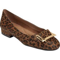 Women's Aerosoles Good Times Flat Leopard Tan