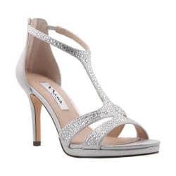 b72d6691c Buy Silver Nina Women s Heels Online at Overstock.com