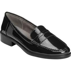 Women's A2 by Aerosoles Side Dish Penny Loafer Black Patent