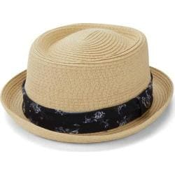 Men's Ben Sherman Braided Straw Pork Pie Hat Natural