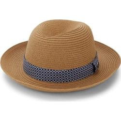 Men's Ben Sherman Braided Straw Trilby Hat Natural