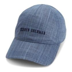 Men's Ben Sherman Textured Linen Baseball Hat Staples Navy