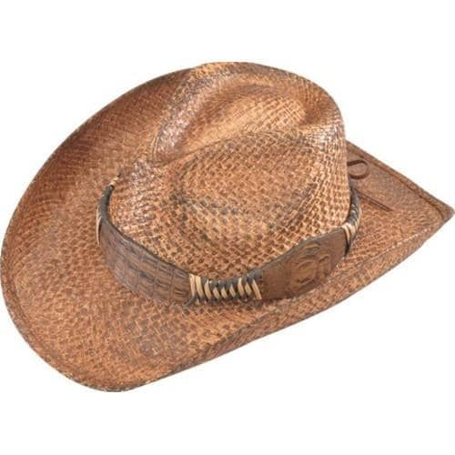 85b991db90cc37 Shop Henschel Walker 3250 Hand Stained Raffia Hat Natural - On Sale - Free  Shipping On Orders Over $45 - Overstock - 16184814