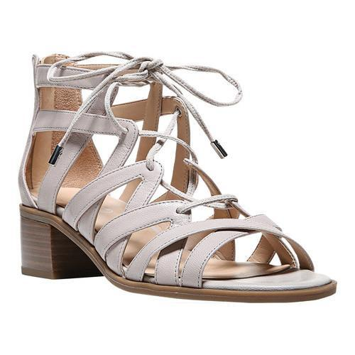 Women's Franco Sarto Ocean Strappy Sandal Satin Taupe Polly Lux Leather -  Free Shipping Today - Overstock.com - 22468347