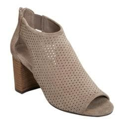 Women's Aerosoles High Frequency Open Toe Bootie Grey Suede