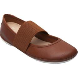 Women's Camper Right Nina Mary Jane Brown Leather