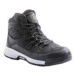 Men's Dickies Banshee Athletic Steel Toe Safety Work Shoe Black/Grey Rubber/Mesh