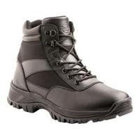 Men's Dickies Javelin 6in Soft Toe Tactical Safety Work Boot Black Leather