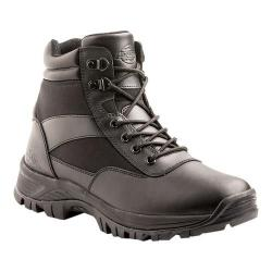 Men's Dickies Javelin 6in Steel Toe Tactical Work Boot Black Leather