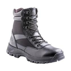 Men's Dickies Javelin 8in Soft Toe Tactical Safety Work Boot Black Leather