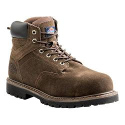 Men's Dickies Prowler 6in Steel Toe Work Boot Brown Suede