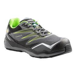 Men's Terra Velocity Lace Composite Toe Safety Work Sneaker Black/Lime Nylon/Mesh