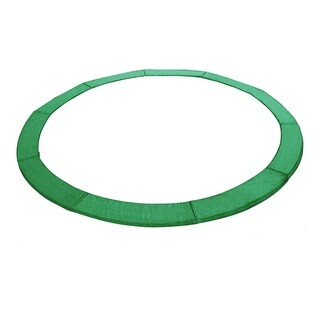 10' Trampoline Replacement Safety Pad Frame Spring Round Cover Green