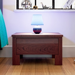 Porch & Den Rosewood Coleto 1-drawer Nightstand