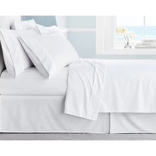 Porch   Den Belmont Shore Granada Wrinkle free Ultra Soft Solid 6 piece Deep. Queen Size Bed Sheets For Less   Overstock com