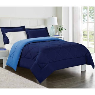 Porch & Den Belmont Shore Bennett Reversible Down Alternative Comforter 3-piece Set (More options available)
