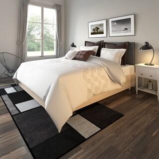 Porch & Den Castro Corbett Brown Geometric Print 10-piece Comforter Set
