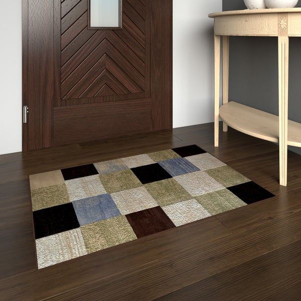 "Porch & Den Hampden Paine Blue Accent Rug - 1'9"" x 2'10"""