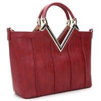 Rosewand Women's 'Koure' Rhinestone and Gold tone trim bag