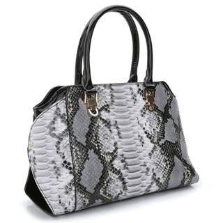 Rosewand Women's 'Diffa' Snake Accent Bag