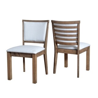 Porthos Home Side Chair With Wooden Legs And Slate Back (Set of 2)