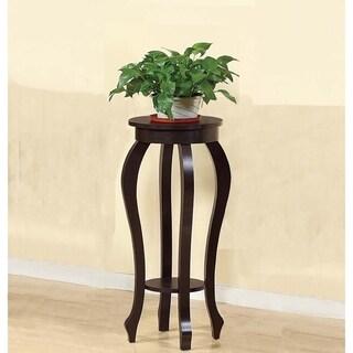 Stylish Medium Plant Table With 1 Round Shelf.