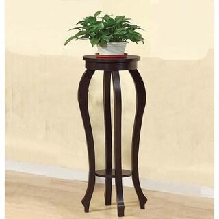 Stylish Large Plant Table With 1 Round Shelf.