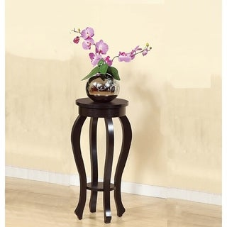 Stylish Small Plant Table With 1 Round Shelf.