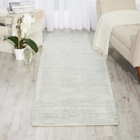 kathy ireland for Nourison Desert Skies Flint Rayon from Bamboo Contemporary Runner Rug (2'3 x 8') - 2'3  x  8'