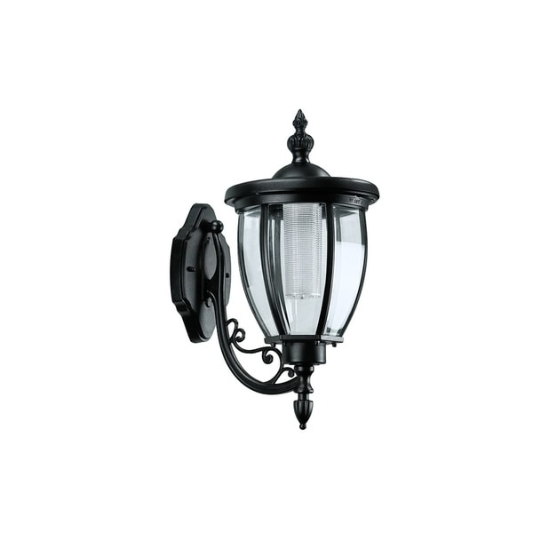 Incredible Shop Sun Ray Kenwick Wall Mount Solar Lantern Black No Wiring Wiring Digital Resources Indicompassionincorg