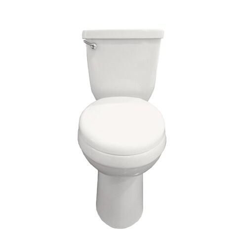 Eviva Tornado Elongated White Toilet