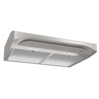 Broan Alta 30 Inch 400 CFM Hood in Stainless Steel - Silver