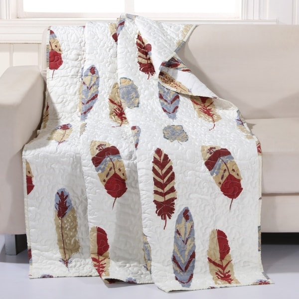 Shop Dream Catcher Gold Throw Quilt On Sale Free Shipping On Inspiration Dream Catcher Over Bed