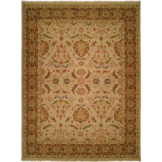 Carol Bolton Spring/Sienna Soumak Wool Area Rug - multi - 8' x 10'