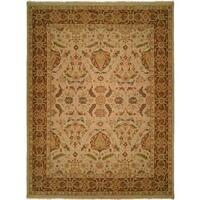 Carol Bolton Spring/Sienna Soumak Wool Area Rug - 8' x 10'