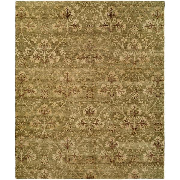 Royal Manner Derbshire Multicolored Wool Hand-knotted Area Rug (8' x 10')