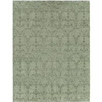 Gramercy Cyprus Teal Hand-knotted Wool Area Rug (9' x 12') - 9' x 12'