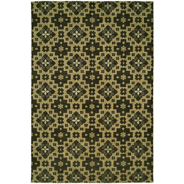 Gramercy Chino Hand-knotted Wool Area Rug (9' x 12') - 9' x 12'