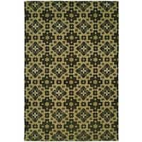 Gramercy Chino Hand-knotted Wool Area Rug (9' x 12')